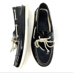 Sperry Topsider Original Patent Leather Boat Shoe